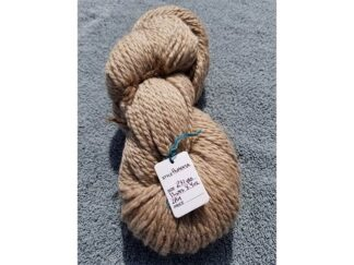 alpaca yarn skein 3 light tan