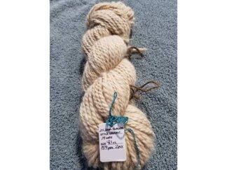 Alpaca cria yarn - Skein 6 - light cream