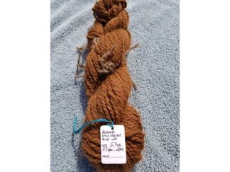 Alpaca yarn - Skein 8 -golden brown