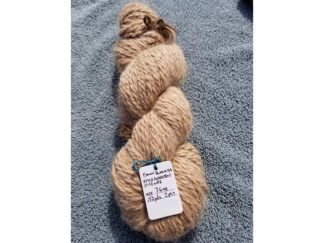 Alpaca yarn - Skein 9 -light tan - fawn