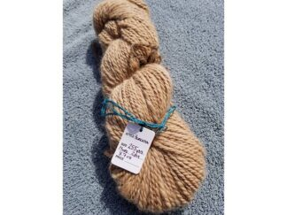 Alpaca yarn - Skein 13 -light tan/fawn